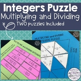 Multiplying and Dividing Integers Puzzle Tarsia and Table Version