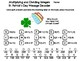 Multiplying and Dividing Integers St Patricks Day Math Activity: Message Decoder