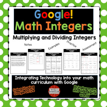 Multiplying and Dividing Integers using Google Drive