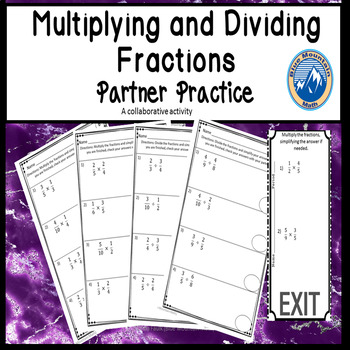 Multiplying and Dividing Partner Practice