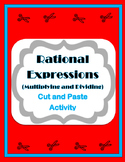 Multiplying and Dividing Rational Expressions Activity