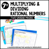 Multiplying and Dividing Rational Numbers: Mazes
