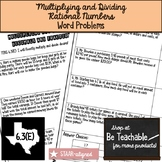 Multiplying and Dividing Rational Numbers (STAAR Test Prep