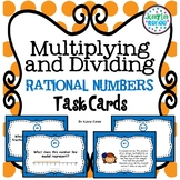 Multiplying and Dividing Rational Numbers Task Cards: 7.NS.2