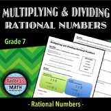 Multiplying and Dividing Rational Numbers Worksheet