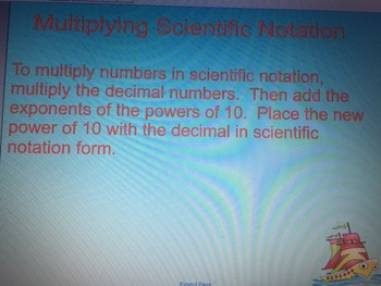 Multiplying and Dividing Scientific Notation