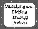 Multiplying and Dividing Whole Numbers Strategy Posters