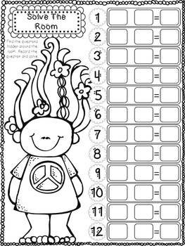 Multiplying and Dividing With The Trolls - 5 Math Centers