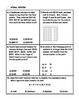 Multiplying and Dividing Integers Word Problem Practice PL