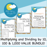 Multiplying and Dividing by Powers of 10 (10, 100 & 1,000) VALUE BUNDLE