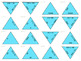 Multiplying and Dividing by 10, 100, and 1000 Large and Small Tarsia Puzzles