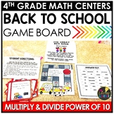 Multiplying and Dividing by Power of Ten August Math Center