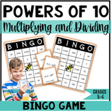 Multiplying and Dividing by Powers of 10 - Decimals and Whole Numbers