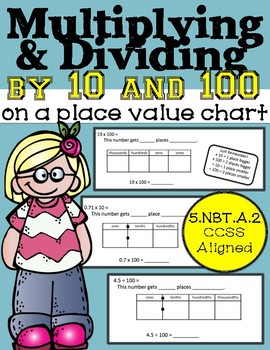 Multiplying and Dividing by Powers of 10: On a Place Value