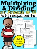 Multiplying and Dividing by Powers of 10 with Exponents, 5