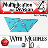 Multiplying and Dividing with Multiples of Ten Math Center