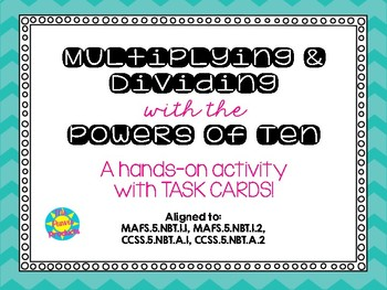 Multiplying and Dividing with the Powers of Ten