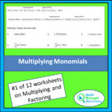 Multiplying and Factoring - Lesson 1 - Multiplying Monomials