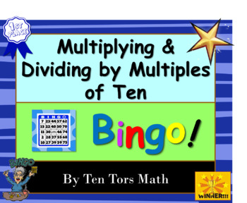 Multiplying and dividing with powers of ten Bingo!