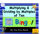 Multiplying and dividing with powers of ten Bingo Activity!