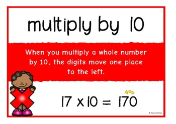 Multiplying by 10, 100, 1000