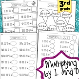Multiplying by 1 and 0 *Posters & Worksheets*
