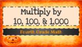 Multiplying by 10, 100, and 1,000 Google Slides Presentation