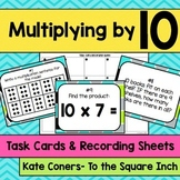 Multiplying by 10 Task Cards