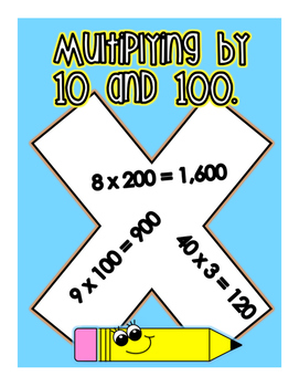 Multiplying by 10 and 100