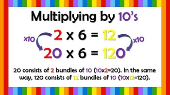 Task Cards and Posters - Multiplying by 10's, 100's, and 1,000's