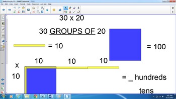 Multiplying by 10s