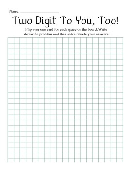 Multiplying by 2-Digit Numbers - Notes and Activity