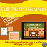 Multiplying by 2-digit Pumpkin Patch