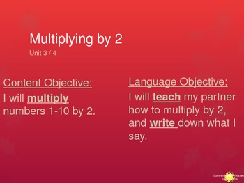 Multiplying by 2s