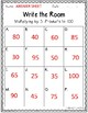 Multiplying by 5s Write the Room