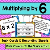 Multiplying by 6 Task Cards