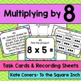 Multiplying by 8 Task Cards