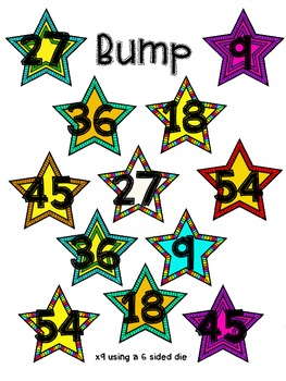 Multiplying by 9 Bump