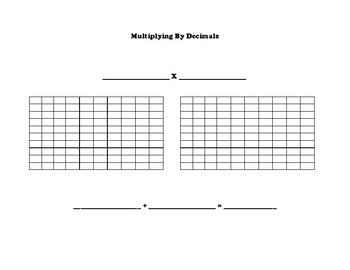 Multiplying by Decimals