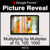 Multiplying by Multiples of 10, 100, 1000 - Google Forms | Distance Learning