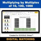 Multiplying by Multiples of 10, 100, 1000 - Google Slides