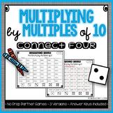 Multiplying by Multiples of 10 NO PREP Partner Games