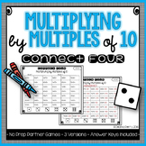 Multiplying by Multiples of 10 NO PREP Partner Games