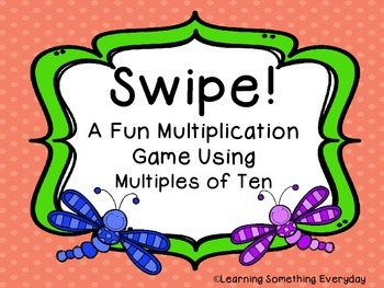 Multiplying by Multiples of Ten - Swipe! Game