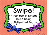 Multiplying by Multiples of Ten - Swipe! Game