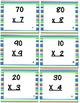 Multiplying by Multiples of Ten Task Cards Multiplication