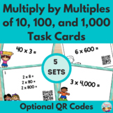 Multiplying by Multiples of Tens, Hundreds & Thousands Tas