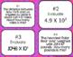 Multiplying by Powers of 10 Bingo