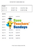 Multiplying by multiples of 10 lesson plans, worksheets and more