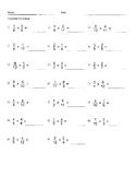 Multiplying fractions 1